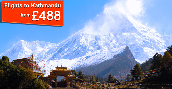 Flights to Kathmandu from £488