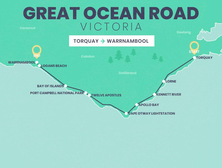 Road Map Victoria Australia.Mapping Australia S Best Road Trips